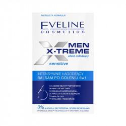 Eveline Men X-Treme - intensywnie łagodzący balsam po goleniu SENSITIVE 6w1, poj. 100 ml