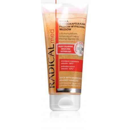 Radical Med - maska z mikrokapsułkami przeciw wypadaniu włosów, poj. 200 ml