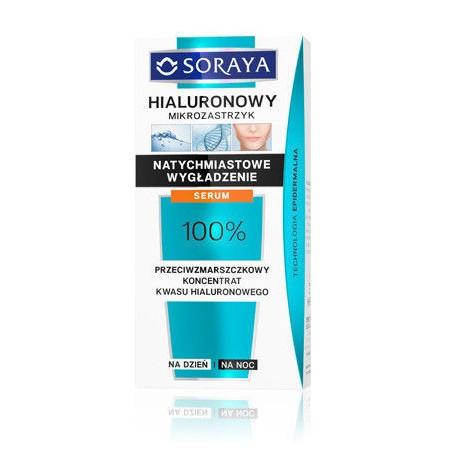 Hialuronowy mikrozastrzyk - serum na dzień i na noc, poj. 30 ml.