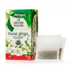 Zielnik Polski - Kwiat Głogu, herbatka ziołowa, 40 g (20 torebek x 2 g)