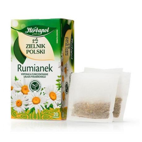 Zielnik Polski - Rumianek, herbatka ziołowa, 30 g (20 torebek x 1,5 g)