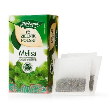 Zielnik Polski - Melisa, herbatka ziołowa, 40 g (20 torebek x 2 g)