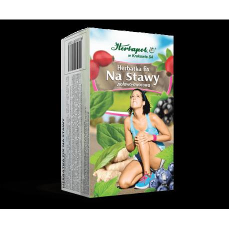 Herbatka Fix - Na Stawy, herbatka ziołowo-owocowa, 40g (20 saszetek x 2g)