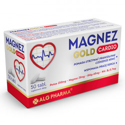 Magnez Gold Cardio - suplement diety, 50 tabletek