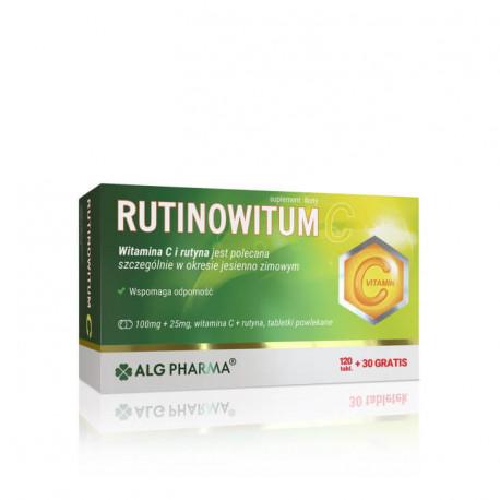 Rutinowitum C, suplement diety, 120 tabletek + 30 tabletek w prezencie