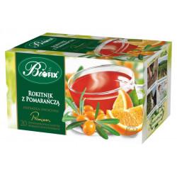 Bi fix Premium Rokitnik z pomarańczą - herbatka owocowa ekspresowa, poj. 20 saszetek x 2g