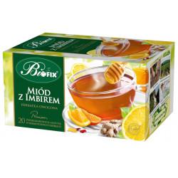 Bi fix Premium Miód z imbirem - herbatka owocowa ekspresowa, poj. 20 saszetek x 2g