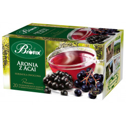 Bi fix Premium Aronia z Acai - herbatka owocowa ekspresowa, poj. 20 saszetek x 2g