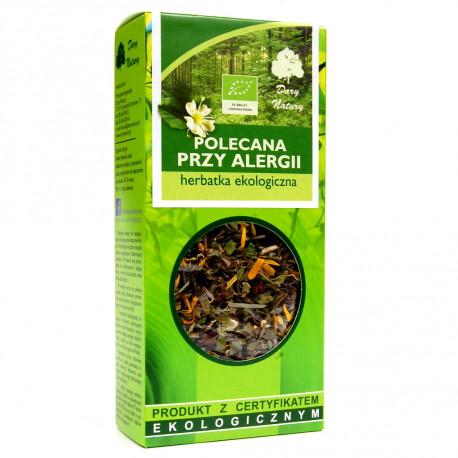Dary Natury - herbatka ekologiczna polecana przy alergii, masa netto: 50g