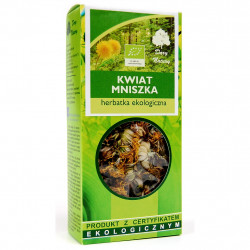 Dary Natury - kwiat mniszka herbatka ekologiczna, masa netto: 25g
