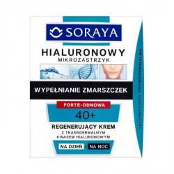 Hialuronowy mikrozastrzyk - regenerujący krem na dzień i na noc 40+, poj. 50 ml.