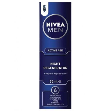 Nivea Men Active Age - Night Regenerator Complete Regeneration, regenerujący krem do twarzy na noc, poj. 50 ml