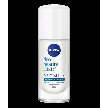 NIVEA Deo Beauty Elixir - antyperspirant w kulce dla kobiet, Fresh, poj. 40 ml