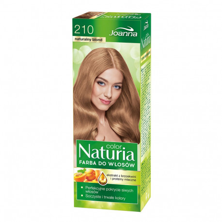 Joanna Naturia Color - farba do włosów, 210 - naturalny blond