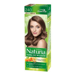 Joanna Naturia Color - farba do włosów, 240 - słodkie cappucino