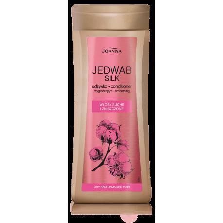 Joanna Jedwab - odżywka wygładzająca do włosów suchych i zniszczonych, masa netto: 200g