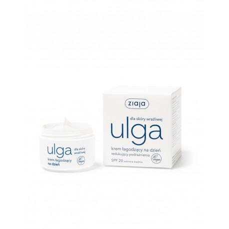 Ziaja Ulga dla skóry wrażliwej - krem łagodzący na dzień redukujący podrażnienia, poj. 50 ml