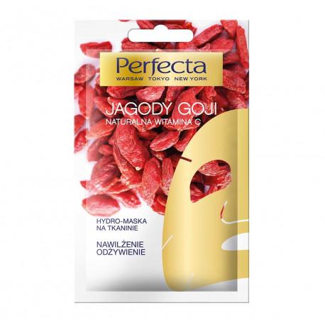 Perfecta - Hydro-maska na tkaninie JAGODY GOJI, poj. 10 ml