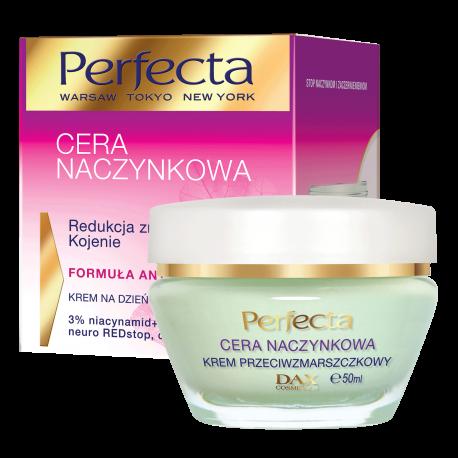 Perfecta Cera naczynkowa – Krem na dzień i na noc, redukcja zmarszczek i kojenie, poj. 50 ml