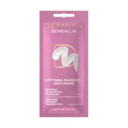 Dermika Maseczki Piękności - SENSACJA, aktywna maseczka anti-aging, poj. 10 ml