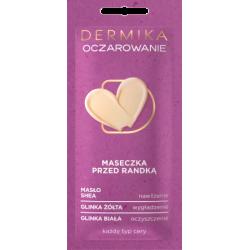 Dermika Maseczki Piękności - OCZAROWANIE, maseczka przed randką, poj. 10 ml