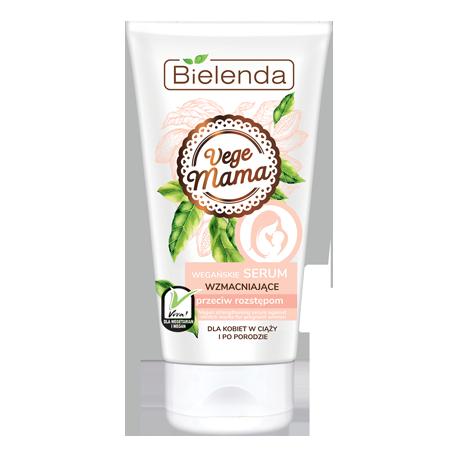 Bielenda VEGE MAMA - wegańskie serum wzmacniające przeciw rozstępom, poj. 150 ml