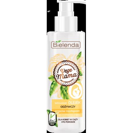 Bielenda VEGE MAMA - wegański olejek odżywczy przeciw rozstępom, poj. 200 ml