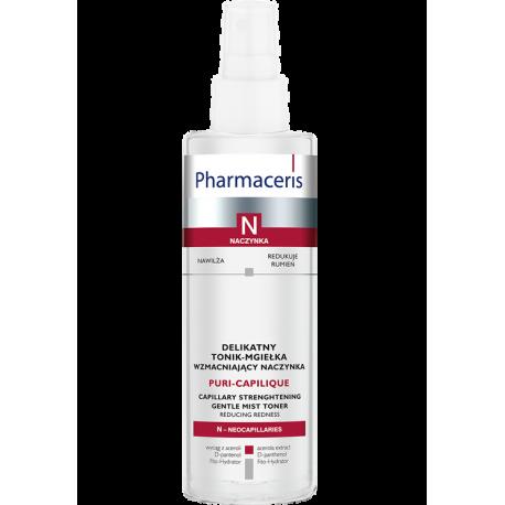 Pharmaceris N, Naczynka - delikatny tonik-mgiełka wzmacniający naczynka, Puri-Capilique, poj. 200 ml