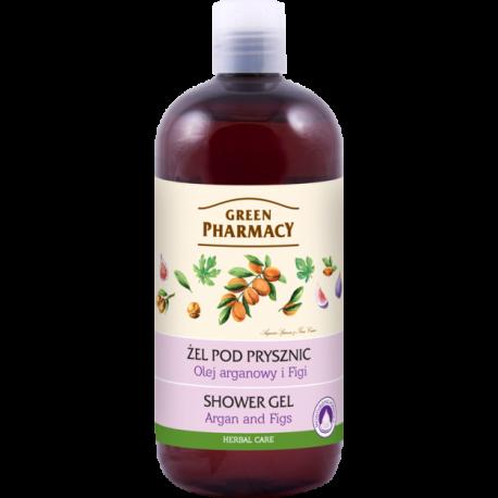 Green Pharmacy - żel pod prysznic, olej arganowy i figi, poj. 500 ml