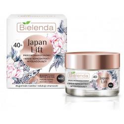 Bielenda JAPAN LIFT - wygładzający krem – koncentrat przeciwzmarszczkowy 40+, na noc, poj. 50 ml