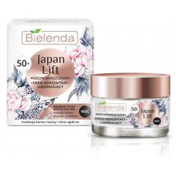 Bielenda JAPAN LIFT - ujędrniający krem koncentrat przeciwzmarszczkowy 50+, na noc, poj. 50 ml