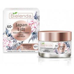 Bielenda JAPAN LIFT - odżywczy krem przeciwzmarszczkowy 60+, na dzień, SPF 6, poj. 50 ml