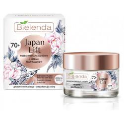Bielenda JAPAN LIFT - naprawczy krem przeciwzmarszczkowy 70+, na dzień, SPF 6, poj. 50 ml