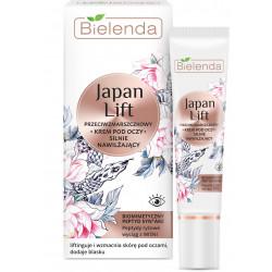 Bielenda JAPAN LIFT - silnie nawilżający krem przeciwzmarszczkowy POD OCZY, poj. 15 ml