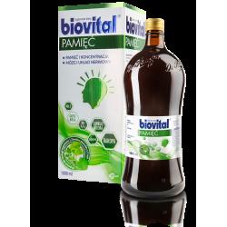 Biovital Pamięć - płyn, suplement diety, poj. 1000 ml