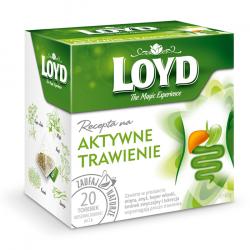 LOYD Recepta na - Aktywne trawienie, herbatka funkcjonalna, poj. poj. 20 torebek piramidek x 1,5 g