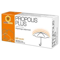Propolis Plus - tabletki wspomagające odporność, suplement diety, 64 szt.