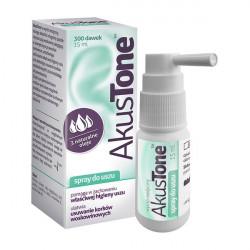 Akustone - spray do uszu, poj. 15 ml (300 dawek)