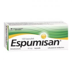 Espumisan - kapsułki przeciw wzdęciom 40 mg, poj. 100 szt