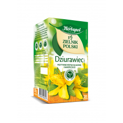 Zielnik Polski - Dziurawiec, herbatka ziołowa, suplement diety, 30 g (20 torebek x 1,5 g)