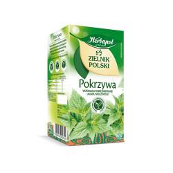 Zielnik Polski - Pokrzywa, herbatka ziołowa, 30 g (20 torebek x 1,5 g)