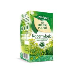 Zielnik Polski - Koper włoski, herbatka ziołowa, 36 g (20 torebek x 1,8 g)
