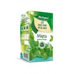 Zielnik Polski - Mięta, herbatka ziołowa, 40 g (20 torebek x 2 g)