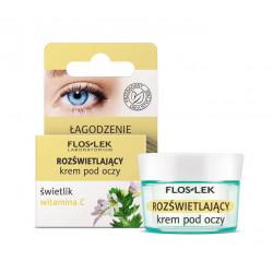 Floslek Pharma - rozświetlający krem pod oczy świetlik, witamina C, poj. 15 ml