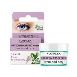 Floslek Pharma - przeciwzmarszczkowy krem pod oczy świetlik kwas hialuronowy, poj. 15 ml