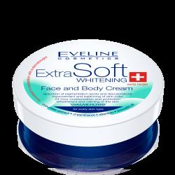 Eveline Extra Soft Whitening - krem do twarzy i ciała, poj. 100 ml