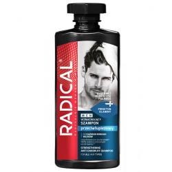RADICAL MEN - przeciwłupieżowy szampon wzmacniający do każdego rodzaju włosów, poj. 400 ml