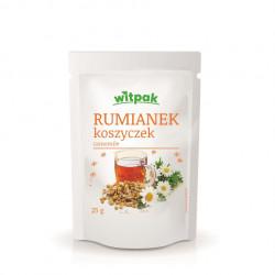 Witpak - rumianek koszyczek, herbatka ziołowa, masa netto: 25 g
