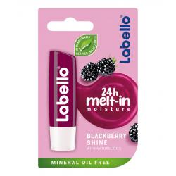 Labello Blackberry Shine - pielęgnacyjny balsam do ust, poj. 5,5 ml