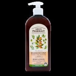Green Pharmacy - balsam do ciała, oliwka i olej arganowy, poj. 500 ml
